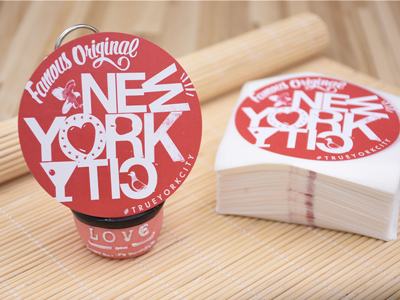 Uncoated Paper Sticker